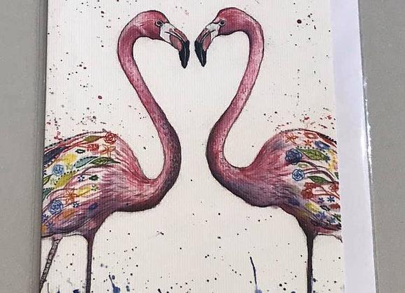 """Fauna and Flora"" Eco Card"