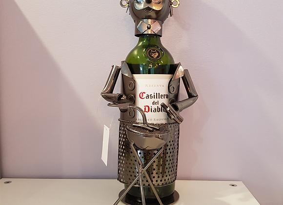 BBQ Chef Metal Bottle Holder