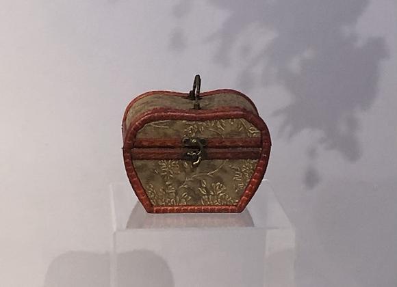 1920's Style Apple Shaped Jewellery Box
