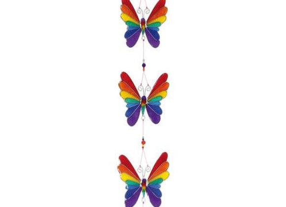 String of Rainbow Butterflies