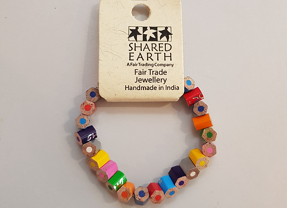 Recycled Pencil Bracelet