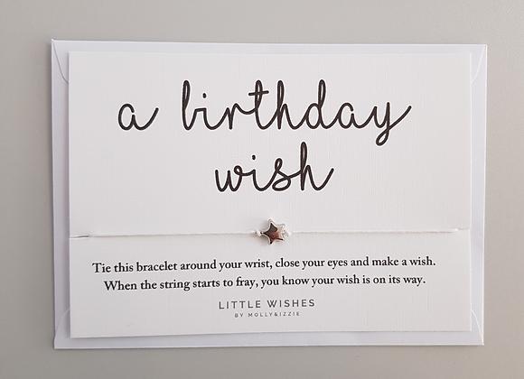 Birthday Wishes Bracelet