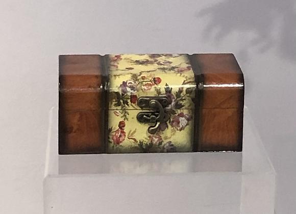 Travel Trunk Shaped Jewellery Box