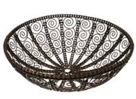 Recycled Bike Chain and Metal Storage Bowl