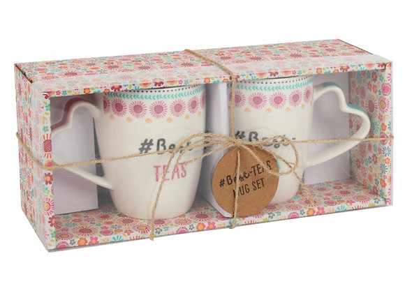 #Best Teas Mug Set