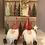 Thumbnail: Metal Santa Ornament