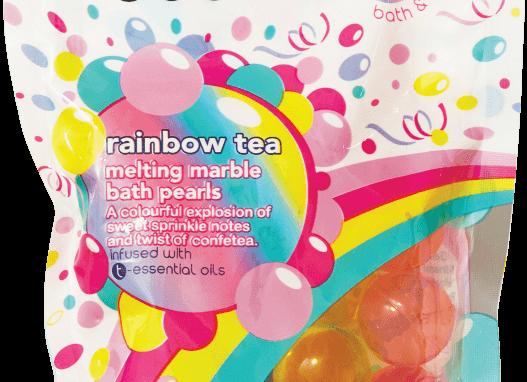Rainbow Tea Essential Oil Bath Pearls