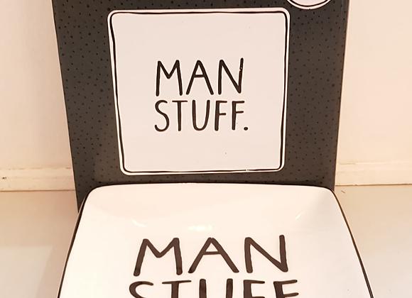 Man Stuff Trinket Dish
