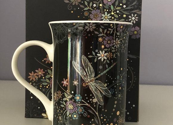 Dragonfly Fine China Mug