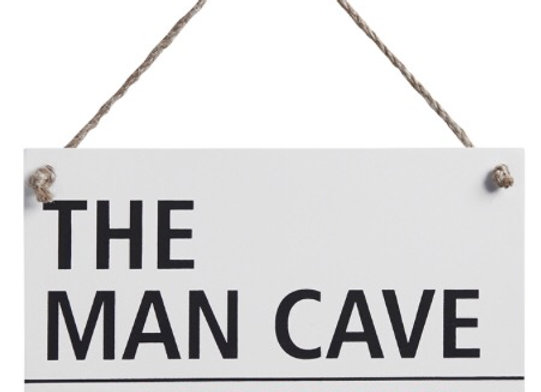 The Man Cave Retro Street Sign