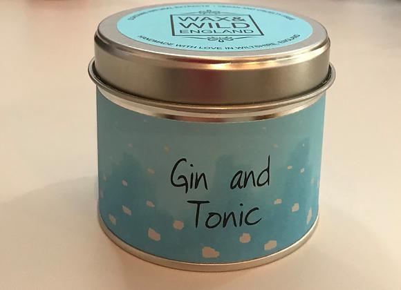 Gin & Tonic Candle Tin