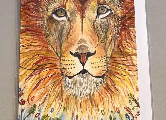 """Dandy Lion"" Eco Card"
