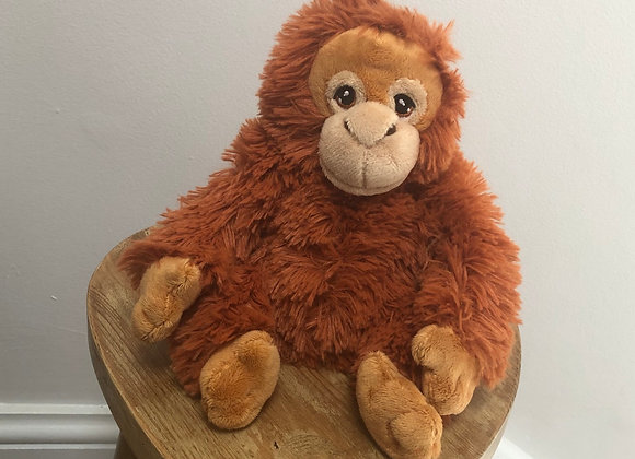 Orangutan Recycled Plastic Bottle Plush Toy