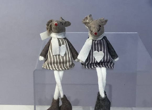 Felt and Fabric Country Mice