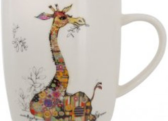 Bug Art Gerry Giraffe Mug