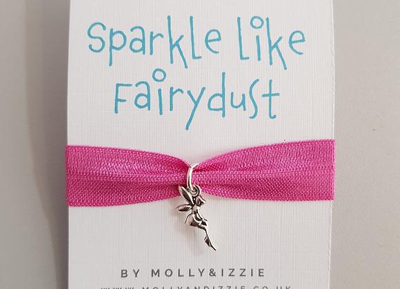 Fairy Charm Ribbon Bracelet