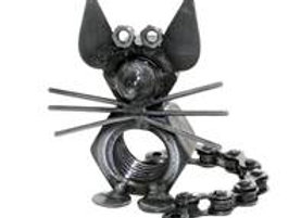 Recycled Metal Mouse Ornament
