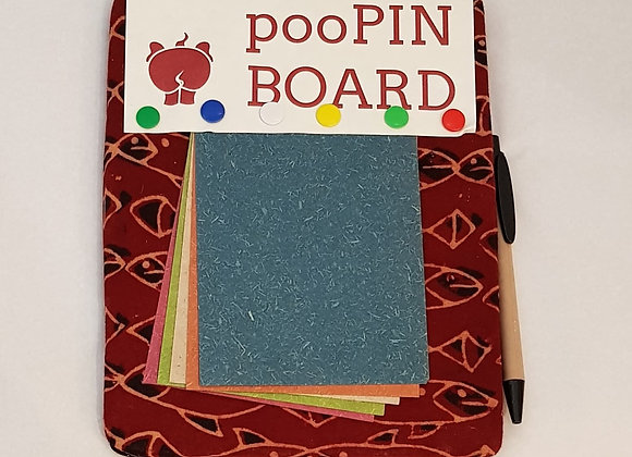 PooPin Novelty Magnetic Pin Board