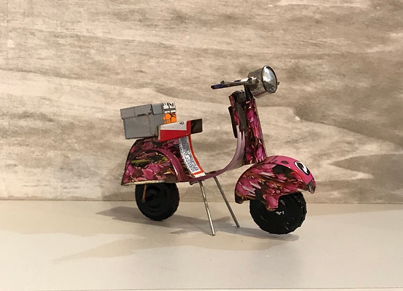 Recycled Can Scooter