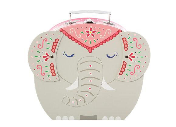 Elephant Storage Suitcase