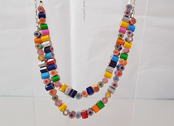 Recycled Pencil Necklace