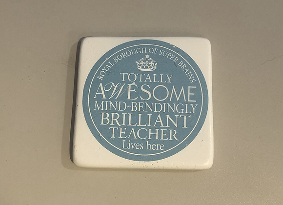 Teacher Coaster