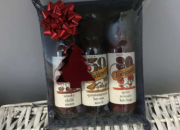 Tracklements Sauces Snap Tray Gift Hamper