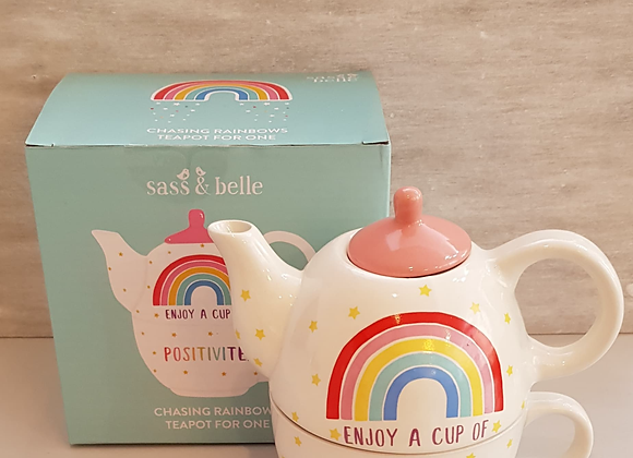 Enjoy A Cup Of Positivitea Teapot For One