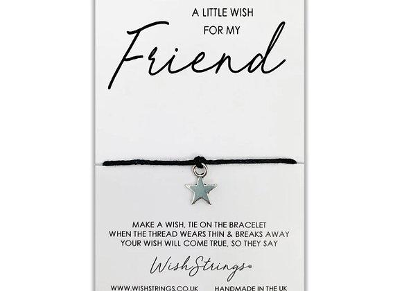 Friendship Silver Charm Bracelet