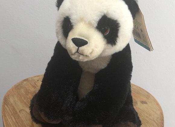 Panda Recycled Plastic Bottle Plush Toy