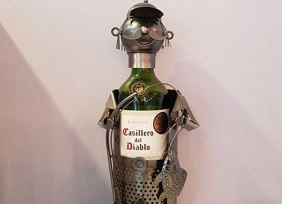 Fisherman Metal Bottle Holder