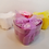 Thumbnail: Soap Flowers - Heart Shaped Box of 3