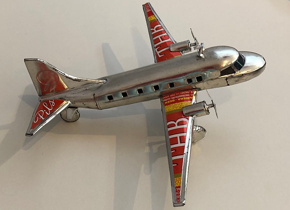 Recycled Can Aeroplane