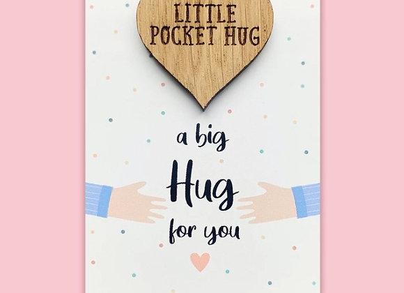 Little Wooden Pocket Hug