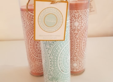 Festival Vibes Tall Tube Candle