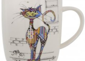 Bug Art Cola Cat Mug