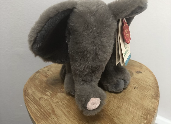 Elephant Recycled Plastic Bottle Plush Toy