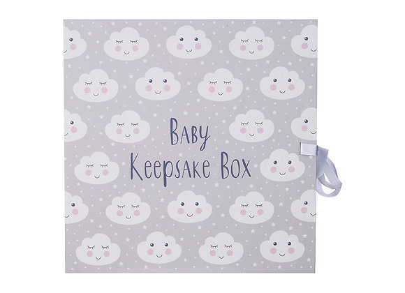 Cloud Keepsake Box