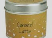 Caramel Latte Candle Tin