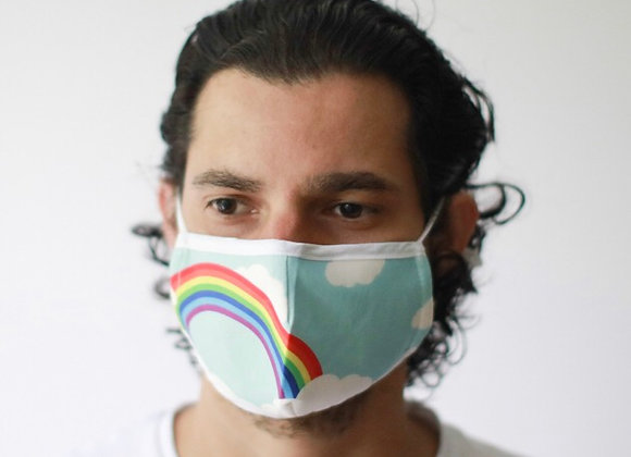 Rainbow Fashion Face Covering