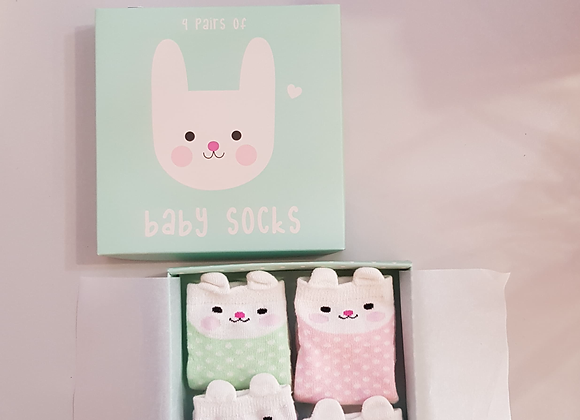 Baby Sock Pack of 4
