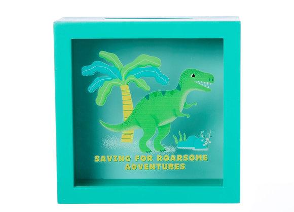Dinosaur Adventure Money Box