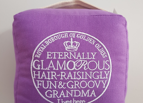 Novelty Grandma Doorstop