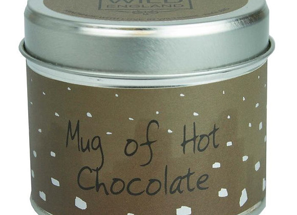 Hot Chocolate Scented Candle Tin