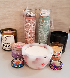 Candles and Tea Light Holders