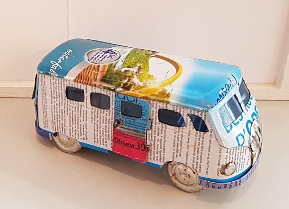 Recycled Can VW Camper Van