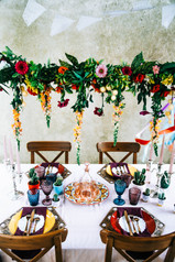 table mariage mexican vibe