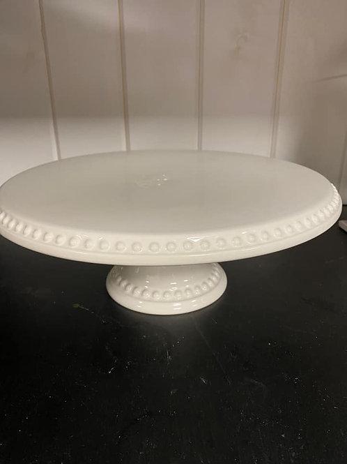 Italian White Cake Stands