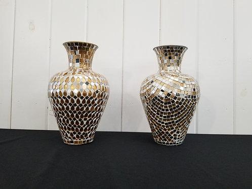 Gold & Silver Decor Vases
