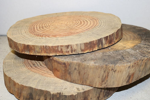 Wood Slabs for Centerpieces